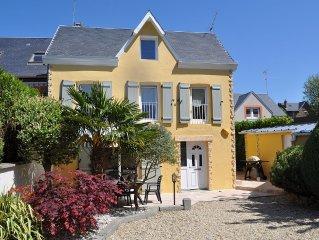 Maison individuelle située en centre ville et à proximité de la plage