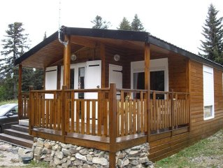 Charming cottage 3 * very comfortable, located directly below the ski slopes