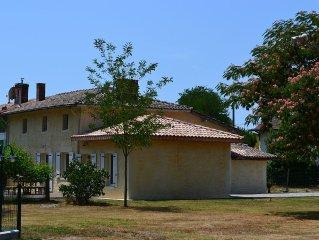 Maison restaurée de 160m² classée *** avec piscine chauffée (suivant période)