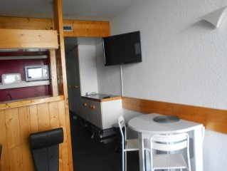 Pierra Menta nice studio for 5 people on the slopes and shops