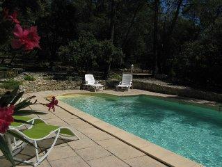 Maison a louer en Provence avec piscine