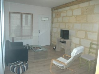 the old cottage Lormont right side against Bordeaux - Furnished 3 stars.