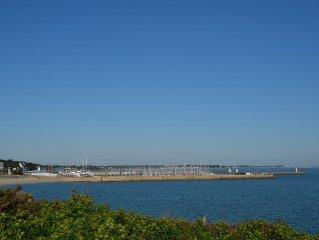 Appartement 42 M²(rez de chaussée) face à la mer, baie de Quiberon 56170
