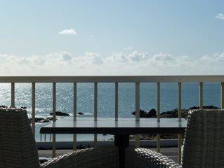 Appartement T3 vue mer au pied de la plage de Port-Lin