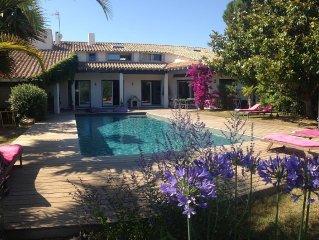 Grande Villa de 300 M2  5 ch 4 SDB Piscine bio UV  4900€/7j  REF FR8LMPNQ