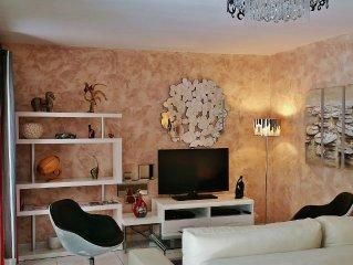 Appt T3 climatisé 4 à 6 pers 70m², Loggia,Parking,Toulouse centre,Belle prest.