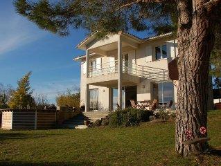 Jolie Villa avec vue exceptionnelle entre Beziers et Agde ( Herault)