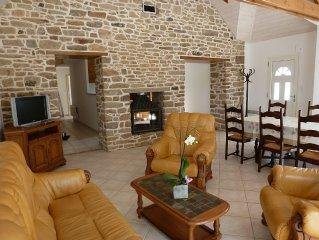 rented cottage, old house, independent, carefully restored