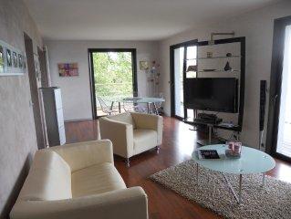 Appartement avec superbe vue sur le Lac Léman dans un cadre bucolique