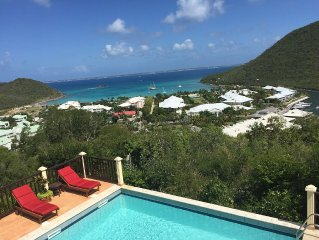 Magnificent villa Anse Marcel with stunning views of the Caribbean Sea!