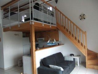 Maison tout confort, vacances agréables assurées à 300 mètres de la mer