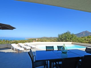 Contemporary villa, luxury, 160 m2, swimming pool