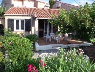 Porticcio, mini villa,  plage d'agosta , Corse du sud