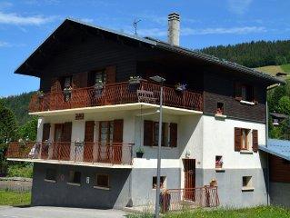 Appartement proche du village, equipements a proximite, wifi (6 personnes)