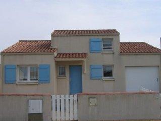 Maison individuelle, 6 couchages, proximite plage, Bretignolles sur Mer