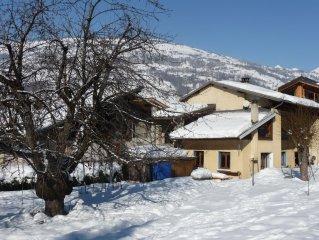 Belle maison de village au coeur de Paradiski