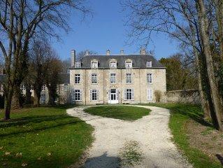 Gîte de charme dans château du 18ème proche Paris et Orléans