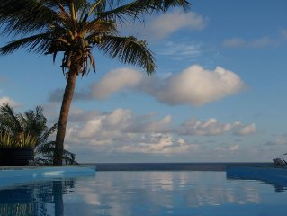 Charming villa with panoramic sea views and private pool.  Le Moule
