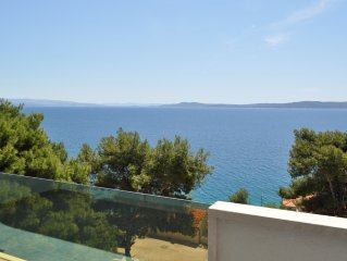 Superbe appartement 5* neuf 4-5 pers vue féerique, piscine, plage, Trogir-Ciovo