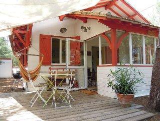 '44 hectares', face au Mimbeau, maison ancienne de charme, en bois tout confort
