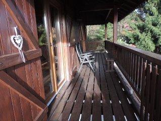 CHALET 'Goutte des Révolles' de 2 à 8 personnes avec Sauna
