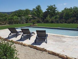 Villa avec piscine privee .DISPO DU 24 JUIN AU 29 JUIN 2017 !!!!