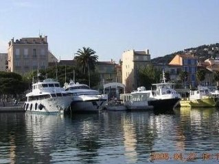 Bandol, facing the port, 3 room apartment