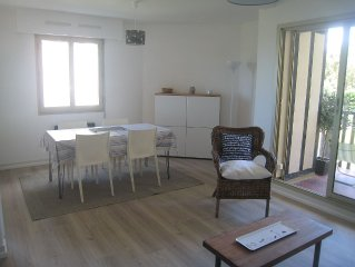 Apartment 68 m2 3 rooms with sea view