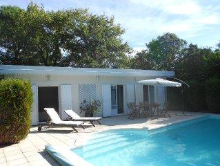Maison pour 5 personnes avec piscine privative sur le bassin d'Arcahon