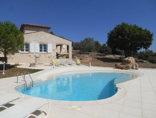 HOUSE AND PRIVATE POOL FOR 8 PERSONS EXCEPTIONAL