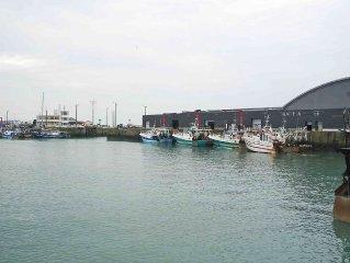 Appartement chaleureux avec vue sur le port de Granville (2 personnes)