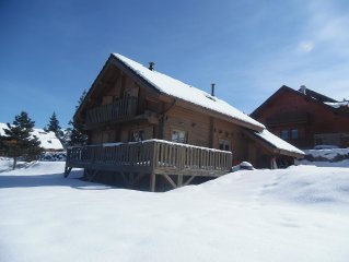 Chalet real comfortable, quiet and near the village, 6 people