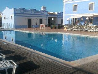 Appartement à Abulfeira dans un club**** avec 4 piscines ,mer à 2kms