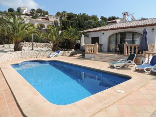 Javea : LE PARADIS: Jolie villa privative, 8 pers, piscine privee, palmeraie,