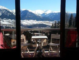 F4 beautiful duplex, comfortable; beautiful view of the Cerdagne plateau