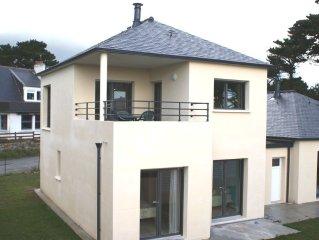 Tres belle villa duplex a 150m de la grande plage des Blancs Sablons