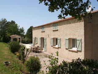 Belle Villa provencale au calme avec piscine, Brignoles, Var