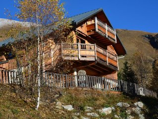 Nearest station La Toussuire - 7 persons in chalet