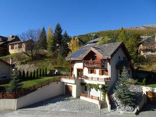 Chalet  briancon  - station de ski de serre chevalier