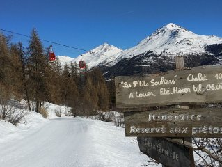 Charming chalet on the slopes of Serre Chevalier