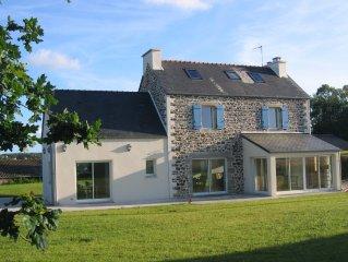 Maison Bretonne rénovée (5-7pers) Baie de Morlaix - Carantec / Taulé