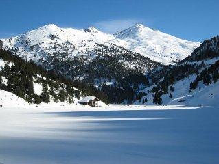 De beaux volumes pour 5 personnes, skis aux pieds, au cœur des 3 Vallées