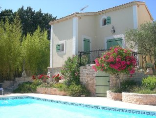 Maisonnette avec piscine calanques de Cassis
