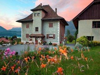 appartement dans demeure de caractère, près d'Annecy