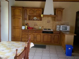 very comfortable house overlooking the sea facing off to rent loguivy sea