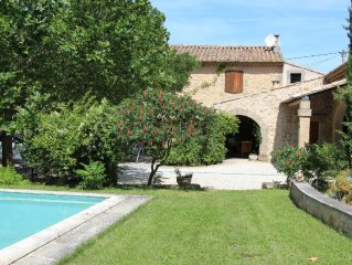 Mas to 6p with gd garden & private pool with Taillades in Luberon