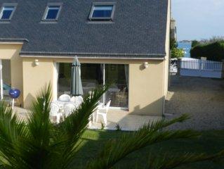 Maison neuve, 100 m de la mer, 4 chambres, idéale vacances en famille