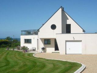 Villa vue mer Buguélès près de Perros Guirec-