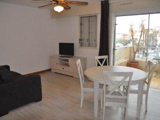 Appartement climatise de 43 m2 avec piscine dans la residence
