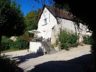 maison médiévale proche Château Chenonceau, zoo de beauval
